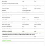 Printable Apartment Rental Application Form